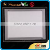 Wall mounted or counter top a4 acrylic picture frame led light box