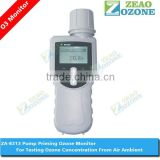 Professional 0-5ppm portable handheld ozone meter for air