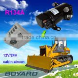 tractor mounted air compressor for Electric mini truck cargo truck cabin air conditioning