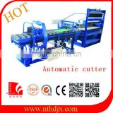 clay brick production cutting machine