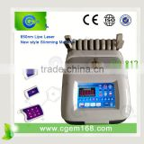 i diode lipo laser slimming weight loss machine with CE (1-3cm per treatment)