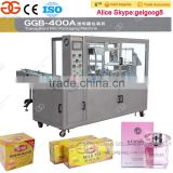 Commercial Paper Box Plastic Film Packing Machine 3D Paper Box Cellophane Wrapping Machine