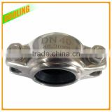 "Easy Installation 5"" DN125 133mm-140mm 316 stainless steel half socket/ coupling for pipe joint with OEM factory"