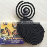 125mm size middel east black color mosquito coil smokeless mosquito killer mosquito repellent incense coil