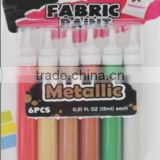 New Arrival Artist Material Metallic Fabric paint