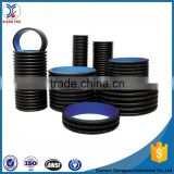 China supplier 8 hdpe double wall corrugated drainage pipe