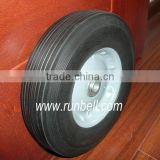 solid rubber trolley caster wheels