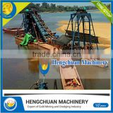 Factory Directly sand/gold chain bucket dredge with high efficiency With Stable Function