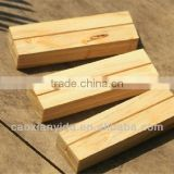 Wooden Blocks For Crafts Decorative Tableware In Office Desk Many Kind Of Wood Material To Choose