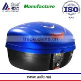 Newest popular blue ,Black,red ,white high quality China factory motorcycle top box for sale