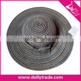 Promotional Straw Hats To Decorate Folding Straw Beach Hat Panama Color Cheap Ladies Wholesale Straw Hats