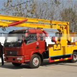 best price factory supply 14m to 16m 4X2 dongfeng 120HP aerial working truck