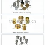 Strict quality testing brass camlock coupling type dp / camlock coupler/cam groove coupling