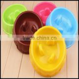 Puppy Dog Slow Down Eating Feeder Dish Pet Dog Cat Feeding Food Bowl Hot sale,custom plastic pet bowls manufacturer