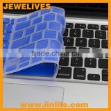 Eco-friendly silicone keyboard cover protector for apple Macbook Air 11, Pro 13,15,17
