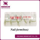 Newair Professional 500 pcs gel Reusable Nail Forms(box)