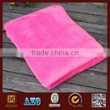 150D/288F super soft coral fleece throw blanket