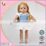"trending hot products 2016 18"" doll prototype manufacturer/wholesale vinyl craft dolls/doll maker toy dolls"