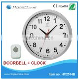 (HC2514B) 14 inch modern wireless doorbells for apartments made in china