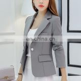 Autumn Cheaper Women Blazer Long Sleeve Single Button Women'S Jacket Office OL High-Grade Fashion Slim Short Women'S Suits