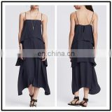 Wholesale Woman Casual Clothes Summer Speghetti Strap Dresses for Women Lycra Party Night Outfit NT6625