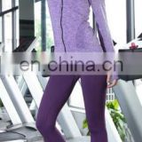 2016 high quality sports fitness women's track suit compression base layer shirt and tights