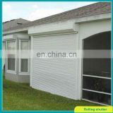 Soundproof roller shutter with electric operation