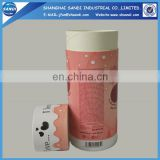 custom full color printed paper tube packaging