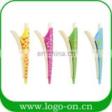 Novelty hairpin shape multifunction pens promotional gift ball pen