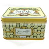 Eco-friendly cheap price small size biscuit metal tin box
