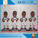 Mascot Souvenir Football Player Figurine