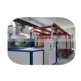 Powder coating production line for aluminum doors and windows