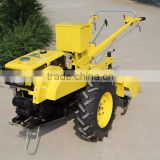 Manual easy to operate mini walking tractor