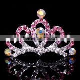 Fashion Crystal Rhinestone Silver Gold Sweeet 16 Tiara Display
