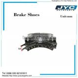China hot sale brake shoe lining