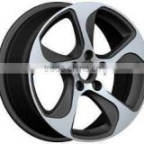 polished wheel rim 17 18 inch in china for car for AUDI A3 wheels