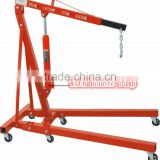 2TON hydraulic shop crane(folding)with Double Pump