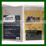 plastic backed canvas drop cloth
