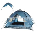 Coulourful Auto Tent 6 person camping tents
