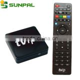 Original New Mediaplayer IPTV HD Set Top Box TVIP S BOX V.410 dual OS android and Linux faster speed