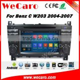 Wecaro WC-MB7508 android 5.1.1 car radio gps for mercedes for benz w203 2004-2007 navigation dvd multimedia system wifi 3g