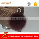 STABILE 2016 fashionable handmade rabbit fur keychain bag fur pom                                                                         Quality Choice