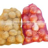 hot sale 40x60cm good quality red Hdpe onions mesh net bags