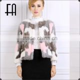 Factory direct wholesale price imported camouflage min knitted coat