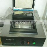 Flash stamp machine for pre inked stamp making