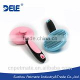 DELE self-cleaning dog slicker brush effective cleaning and grooming pet product                                                                         Quality Choice