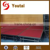 performance portable mobile event stage rental