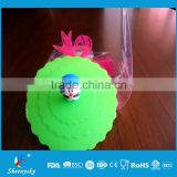 100% food grade hot selling cartoon shaped silicone cup cover /silicone cup lid / silicone Tea cup cover                                                                         Quality Choice