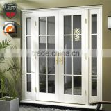 french design mahogany solid wood framed lowes glass interior folding doors                                                                         Quality Choice