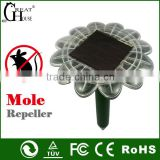 Newest solar pest repeller with sunflower shape mole removal machine in pest control GH-316E